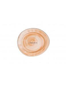 Тарелка овальная 22,5х19,5см фарфор PL Proff Cuisine серия ORGANIC FUSION