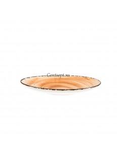 Тарелка овальная 23х14см фарфор PL Proff Cuisine серия ORGANICA SAND