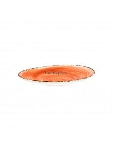 Тарелка овальная 23х14см фарфор PL Proff Cuisine серия ORGANICA SPICY