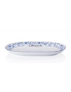 Тарелка овальная 24х15см фарфор Arzberg серия Form 1392 Blaubluten