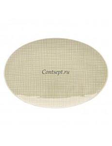 Тарелка овальная 25х17см фарфор Rosenthal серия Mesh Cream