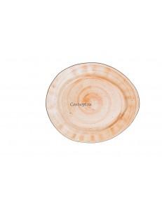 Тарелка овальная 26,5х22,5см фарфор PL Proff Cuisine серия ORGANIC FUSION