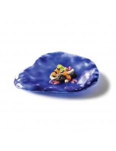 Тарелка овальная 28х24см стекло PORDAMSA серия Indigo
