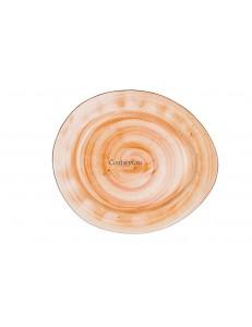 Тарелка овальная 30х26см фарфор PL Proff Cuisine серия ORGANIC FUSION