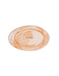 Тарелка овальная 31,5х20см фарфор PL Proff Cuisine серия ORGANIC FUSION