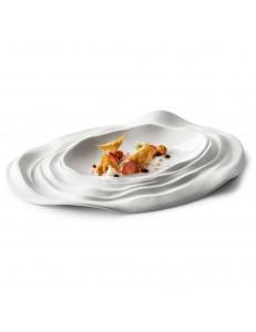 Тарелка овальная 33х22,5см фарфор PORDAMSA серия Barcelona