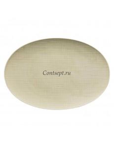 Тарелка овальная 38х26см фарфор Rosenthal серия Mesh Cream