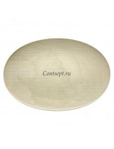 Тарелка овальная 42х29см фарфор Rosenthal серия Mesh Cream