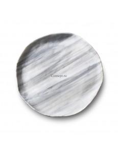 Тарелка плоская 21см стекло PORDAMSA серия Nordica