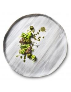 Тарелка плоская 29см стекло PORDAMSA серия Nordica
