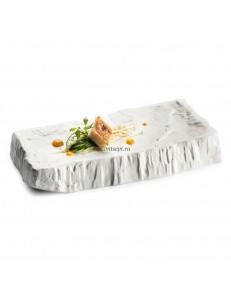 Тарелка-подиум 28х12х5см  фарфор PORDAMSA серия Cliff