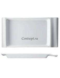 Тарелка прямоугольная 24х12см Piastra фарфор Rosenthal серия In.Gredienti