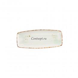 Тарелка прямоугольная 30,5х12,5см фарфор PL Proff Cuisine серия ORGANICA GREEN