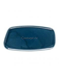 Тарелка прямоугольная 30х15см фарфор Rosenthal серия Junto Ocean Blue