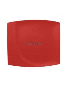 Тарелка прямоугольная 32х29 см фарфор RAK серия Neofusion Ember