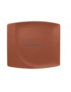 Тарелка прямоугольная 32х29 см фарфор RAK серия Terra