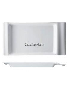 Тарелка прямоугольная 33х16см Piastra фарфор Rosenthal серия In.Gredienti
