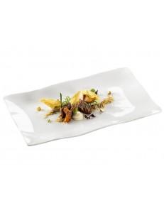 Тарелка прямоугольная 33х20см фарфор PORDAMSA серия Gastro