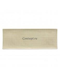 Тарелка прямоугольная 34х13см фарфор Rosenthal серия Mesh Cream