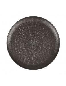 Тарелка рифленная 23см фарфор PL Proff Cuisine серия Black star