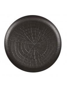 Тарелка рифленная 30 фарфор PL Proff Cuisine серия Black star