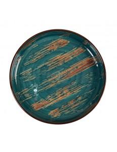 Тарелка с бортом 19,5х2,6 серия Texture фарфор PL Proff Cuisine
