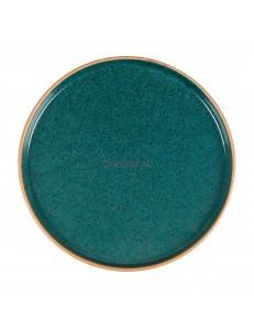 Тарелка с бортом 23х1,5 см серия Blue Taiga матовый фарфор PL Proff Cuisine