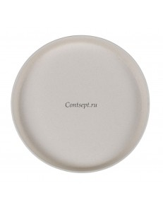 Тарелка с бортом 27х3см серия Elephant Ivory матовый фарфор PL Proff Cuisine