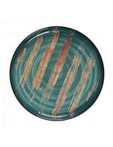 Тарелка с бортом 28х3см серия Texture фарфор PL Proff Cuisine