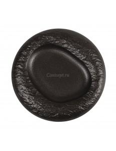 Тарелка с выемкой 27х3,3 см фарфор PL Proff Cuisine серия Black star