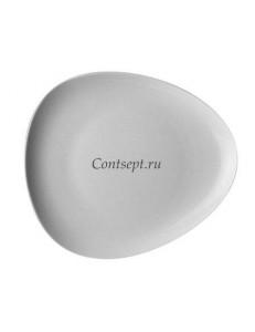Тарелка треугольная 23см фарфор Rosenthal серия Accenti