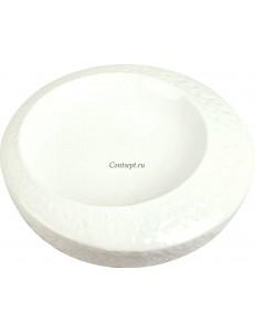 Тарелка в виде камня 20см фарфор  PL Proff Cuisine