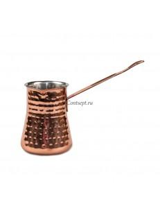 Турка для кофе 300мл медное покрытие