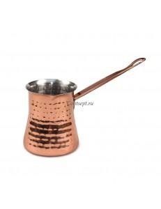 Турка для кофе 400мл медное покрытие