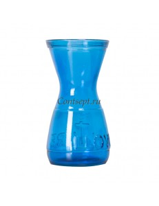 Ваза 21см синий цвет