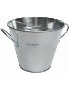 Ведро для подачи 0,9 л 8,5х13,5 см  нержавеющая сталь