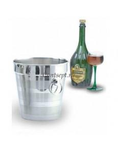Ведро для шампанского 20х20см 3,8л нержавеющая сталь