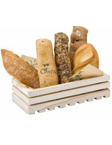 Ящик сервировочный деревянный 21,6х10,2х6(h)см