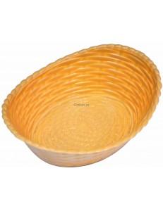 Хлебница пластиковая овальная 21х16,5х6,8см