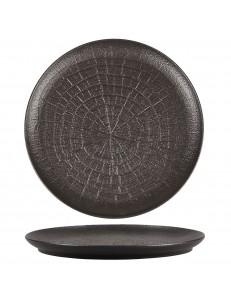 Тарелка рифленная 21см фарфор PL Proff Cuisine серия Black star